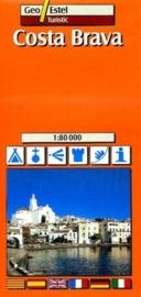 Auto - Fietskaart Costa Brava No. T04 | GeoEstel | 1:80.000 | ISBN 9788495788009
