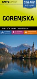 Wandelkaart Gorenjska -Slovenië | KartoGrafija | 1:40.000 | ISBN 3830048522502