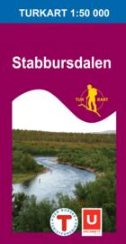 Wandelkaart Stabbursdalen 2725 | Nordeca | 1:50.000 | ISBN 7046660027257
