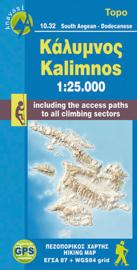 Wandelkaart Kalimnos | Anavasi 10.32 | 1:25.000 | ISBN 9789608195943