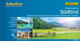 Fietsgids Radatlas Südtirol - 1081 km. | Bikeline | fietsen in Noord Italië - Zuid Tirol | ISBN 9783850004510
