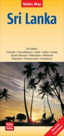 Wegenkaart Sri Lanka | Nelles | 1:450.000 | ISBN 9783865745118