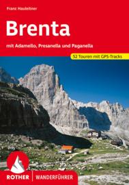 Wandelgids Brenta | Rother Verlag | mit Adamello, Presanella und Paganella | ISBN 9783763341818