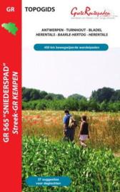 Wandelgids Sniederspad - streek GR Kempen - GR 565  | Grote Routepaden | ISBN 9789081396431