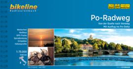 Fietsgids Po Radweg - 595 km. | Bikeline | Fietsen van Milaan naar de Po-delta | ISBN 9783850001434