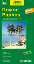 Wegenkaart - Fietskaart Paphos (14) Cyprus   1:100.000   Orama editions   ISBN 9789604486717