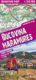 Wandelkaart - Wegenkaart Bucovina - Maramures | TerraQuest Adventure map | 1:250.000 / 1:75.000 | ISBN 9788361155447