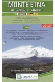 Wandelkaart  Monte Etna - Alcantara - Simeto | 1:50.000 | Global Map | ISBN 9788833030012