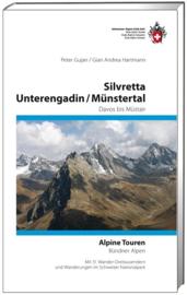 Alpinegids Silvretta - Unterengadin - Münstertal Davos bis Val Müstair | SAC | ISBN 9783859023093