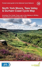 Fietskaart North York Moors, Tees Valley & Durham Coast | Sustrans Cycle Map 33 | ISBN 9781900623469