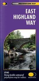 Wandelkaart East Highland Way | Harvey Maps | ISBN 9781851375301