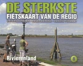 Fietskaart De sterkste fietskaart van de regio : Rivierenland | Buijten & Schipperheijn | 1:50.000 | ISBN 9789058817228