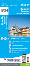 Wandelkaart Rumilly - Seyssel | IGN 3331OT - IGN 3331 OT | ISBN 9782758539865