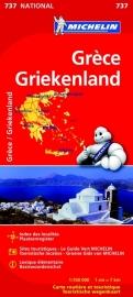 Wegenkaart Griekenland | Michelin 737 | 1:700.000 | ISBN 9782067172029