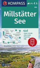 Wandelkaart Millstätter See | Kompass 066 | 1:25.000 | ISBN 9783990447178