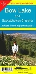 Wandelkaart  Bow Lake & Saskatchewan Crossing | GEM Trek nr. 3 | 1:70.000 | ISBN 9781895526561