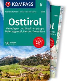 Wandelgids Osttirol | Kompass 5620 | ISBN 9783991210375