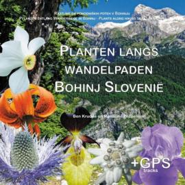 Wandelgids Planten langs wandelpaden in Bohinj - Slovenië    BKBOEK   ISBN 9789090328201