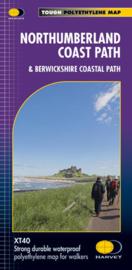 Wandelkaart Northumberland Coast Path | Harvey | 1:25.000 | ISBN 9781851375226