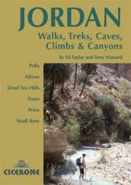 Wandel- Trekking- Klimgids Jordanië - Walks, Treks Caves, Climbs and Canyons in Jordanië | Cicerone | ISBN 9781852845209