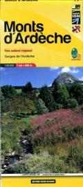 Wandelkaart Ardeche - Parc Regional   Editions Libris 11   1:60.000   ISBN 9782723476744