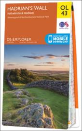 Wandelkaart Hadrian`s Wall | Explorer Maps OL43 | Ordnance Survey | | 1:25.000 | ISBN 9780319263624