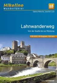 Wandelgids Lahnwanderweg | Hikeline | ISBN 9783850007092