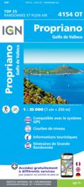 Wandelkaart Propriano, Golfe di Valinco | Corsica -  IGN 4154OT - 4154 OT