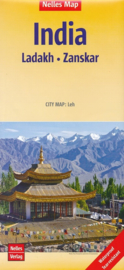 Wegenkaart Ladakh - Zanskar | 1:350.000 | Nelles Maps | ISBN 9783865742728