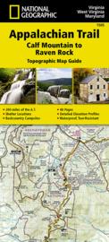 Wandelkaart Appalachian Trail – Calf Mountain to Raven Rock | 1:63360 | National Geographic 1505 | ISBN 9781597756426