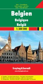 Wegenkaart België -Belgium - Belgique | Freytag & Berndt | 1:300.000 | ISBN 9783707903157