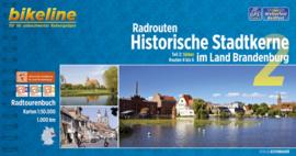 Afgeprijsd - Fietsgids Brandenburg : Radrouten Historische Stadtkerne im Land Brandenburg 2 - 975 km | Bikeline | ISBN 9783850003582