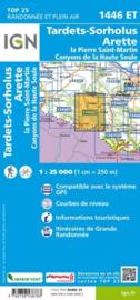Wandelkaart Tardets-Sorholus, Arette, Aramits, Sorholus, La-Pierre-St.Martin | Pyreneeën | IGN 1446ET - IGN 1446 ET | ISBN 9782758538783