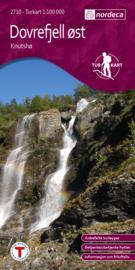 Wandelkaart Dovrefjell Knutsø 2710 | Nordeca | 1:100.000 | ISBN 7046660027103