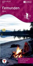 Wandelkaart Femunden Noord 2721 | Nordeca | 1:50.000 | ISBN 7046660027219