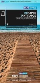 Wandelkaart Paros - Antiparos | Terrain Maps 310 | 1:40.000 | ISBN 9789606845956
