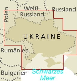 Wegenkaart Ukraine | Reise Know How | Oekraine | 1:1 miljoen | ISBN 9783831771349