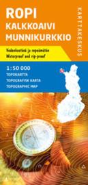 Wandelkaart Ropi Kalkkoaivi Munnikurkkio | Karttakeskus No. 1 | 1:50.000 | ISBN 9789522664860