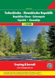 Wegenatlas Tsjechië en Slowakije | Freytag & Berndt | 1:150.000 | ISBN 9783707914382