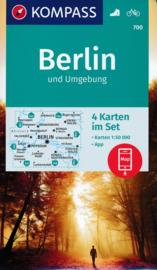 Wandelkaart Kompass 700 Berlin und Umgebung | 1:50.000 / ISBN 9783990446096