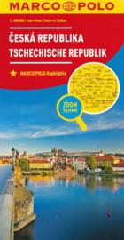 Wegenkaart Tsjechië | Marco Polo | 1:300.000 | ISBN 9783829738460