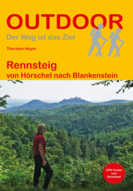 Wandelgids  Rennsteig - Thüringen   Conrad Stein Verlag   ISBN 9783866867345
