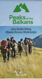 Wandelkaart Peaks of the Balkans | Huber | 1:60.000 | ISBN 9783943752168