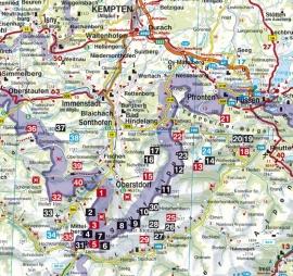 Klettersteiggids Rother Allgäuer Alpen - Höhenwege und Klettersteige   Rother Verlag   ISBN 9783763331208