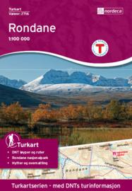 Wandelkaart Rondane 2716 | Nordeca | 1:100.000 | ISBN 7046660027165