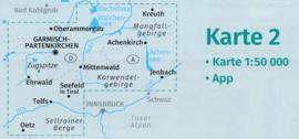 Wandelkaart Innsbruck   Kompass 290   1:50.000   ISBN 9783990444535