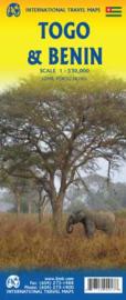 Wegenkaart Togo-Benin | ITMB | 1:864.000 | ISBN 9781771290913