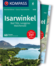 Wandelgids Isarwinkel | Kompass | ISBN 9783991210429
