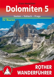 Wandelgids Rother Dolomiten 5 :  Sexten - Toblach - Prags | Rother Verlag | ISBN 9783763341993