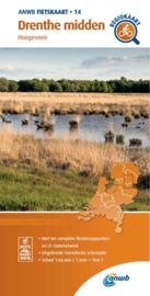 Fietskaart Drenthe Midden | ANWB 14 | 1:66.666 | ISBN 9789018047153